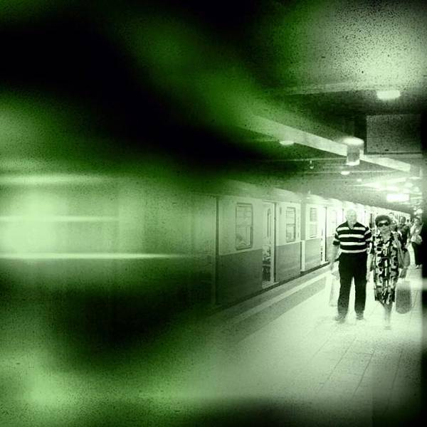 Jazz Wall Art - Photograph - Blur In The Tube #iphone #instagram by Roberto Pagani