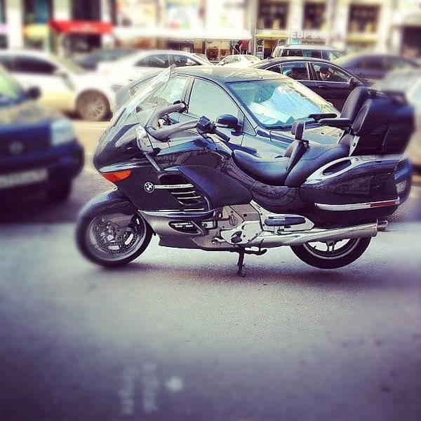Bmw Photograph - Bmw Bike In Moscow, If Like, Follow My by Konstantin R