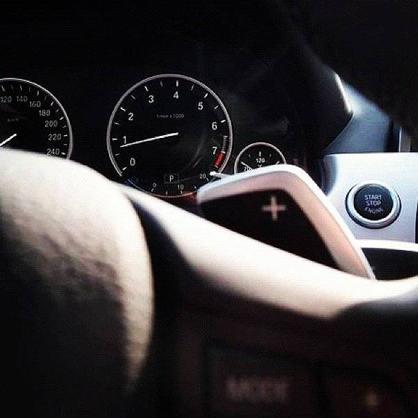 Bmw Photograph - #bmw #gearbox #f10 #2012 #red #top by Omar Chawki