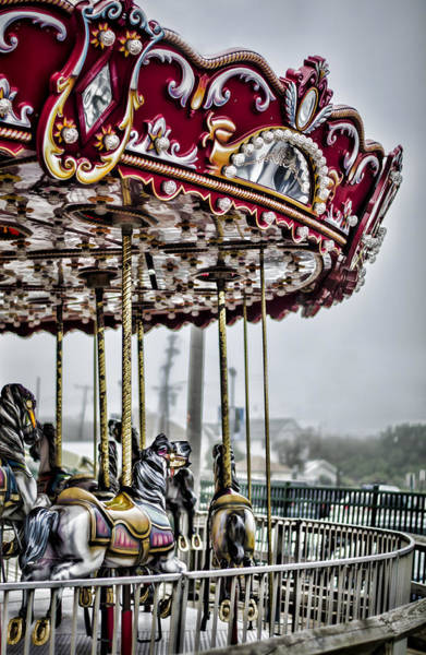 Photograph - Boardwalk Carousel by Heather Applegate