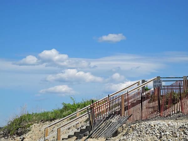 Photograph - Boardwalk In The Dunes by Lynda Lehmann