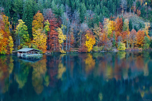 Photograph - Boat House by Ryan Wyckoff
