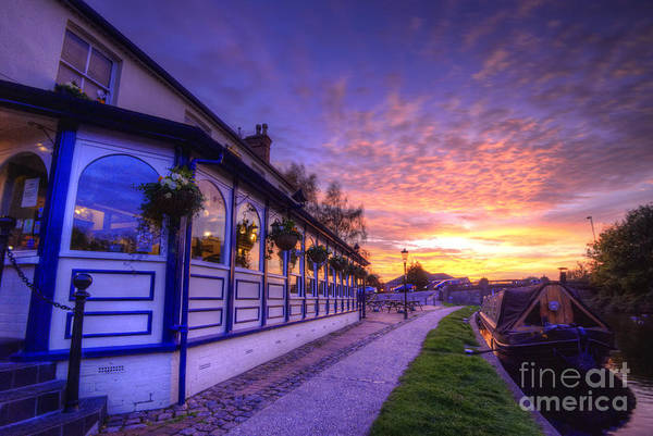 Photograph - Boat Inn Sunrise 2.0 by Yhun Suarez