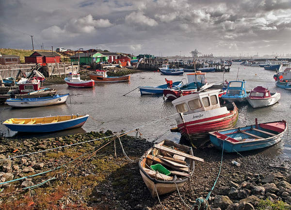 Photograph - Boats At Paddy's Hole by Gary Eason