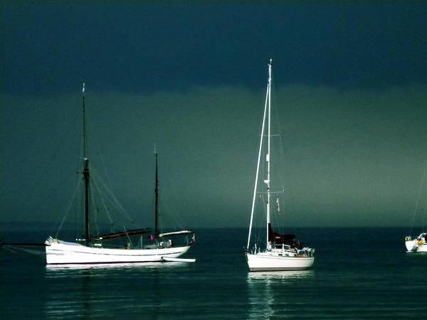 Photograph - Boats In Ballen Samsoe Denmark by Colette V Hera  Guggenheim