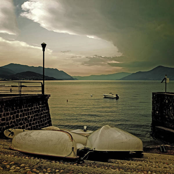 Lake Maggiore Photograph - Boats by Joana Kruse