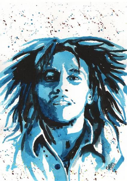 Chris Cox Painting - Bob Marley by Chris Cox