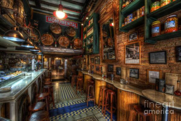Photograph - Bodega Monumental Tapes Bar by Yhun Suarez