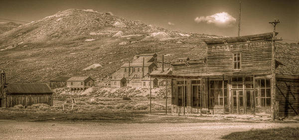 Bodie Ghost Town Wall Art - Photograph - Bodie California Ghost Town by Scott McGuire