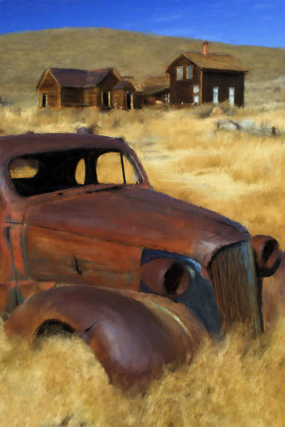 Bodie Ghost Town Mixed Media - Bodie Classic by Renee Skiba