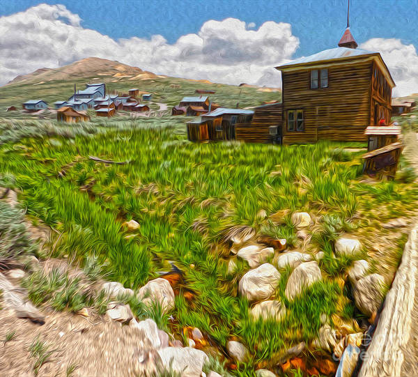 Painting - Bodie Ghost Town - 02 by Gregory Dyer