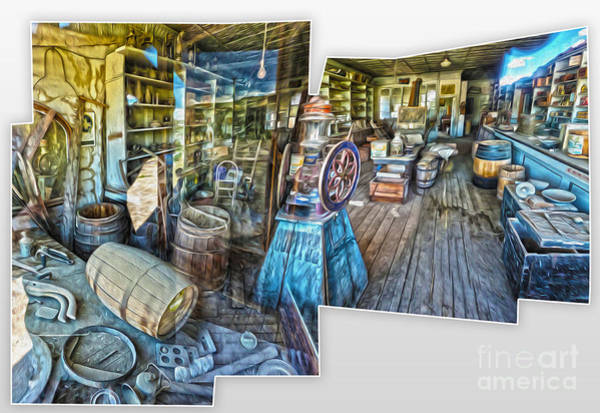 Painting - Bodie Ghost Town - General Store by Gregory Dyer