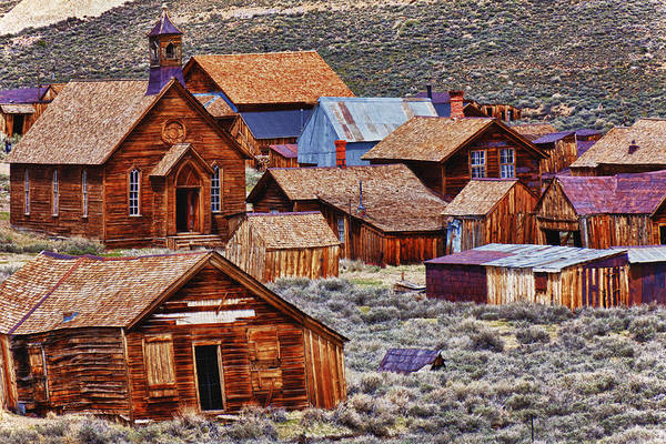 Bodie Ghost Town Wall Art - Photograph - Bodie Ghost Town California by Garry Gay