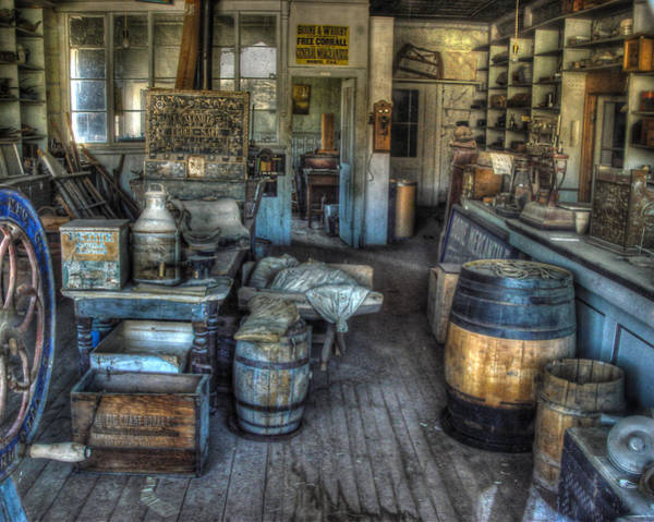 Bodie Ghost Town Wall Art - Photograph - Bodie State Historic Park California General Store by Scott McGuire