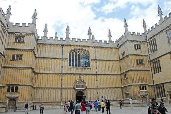 Photograph - Bodleian Library by Tony Murtagh