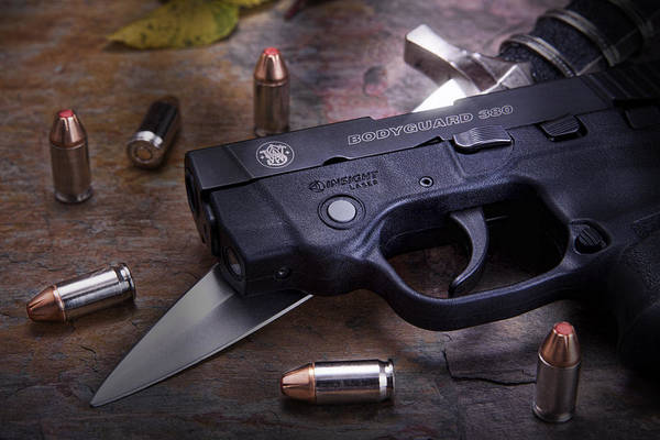 Wesson Photograph - Bodyguard Concealed Carry by Tom Mc Nemar