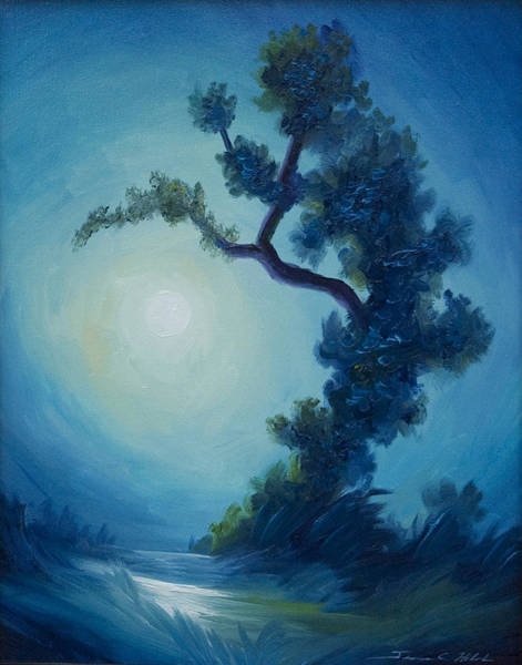 Painting - Bonsai I by James Christopher Hill