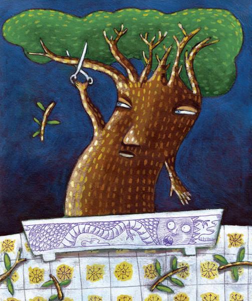 Bonsai Tree Digital Art - Bonsai by Luciano Lozano