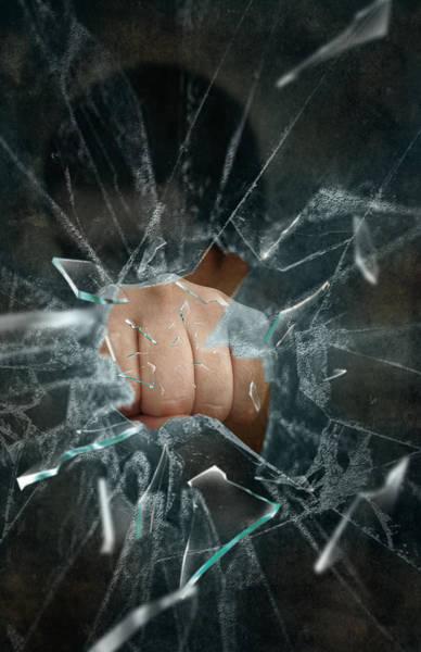 Broken Glass Digital Art - Boom by Svetlana Sewell
