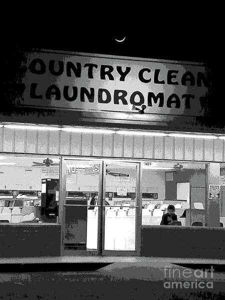 Dirty Laundry Photograph - Bored Flat At The Laundromat by Joe Pratt
