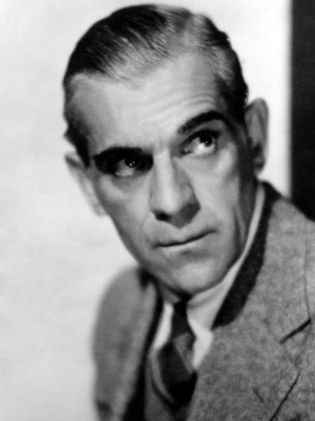 Boris Karloff Photograph - Boris Karloff, Ca 1939 by Everett
