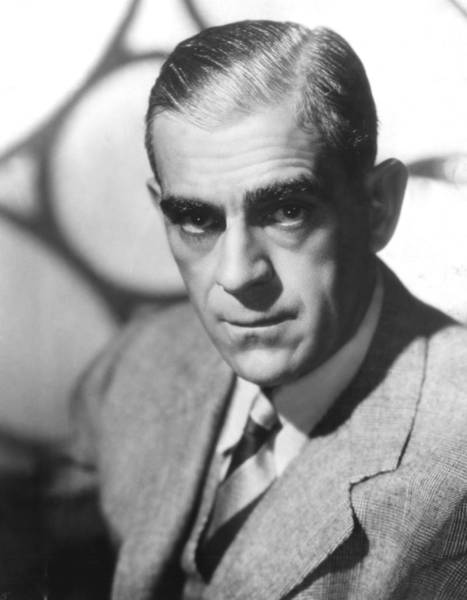 Boris Karloff Photograph - Boris Karloff, Ca 1940s by Everett