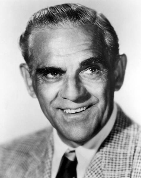 Boris Karloff Photograph - Boris Karloff by Everett
