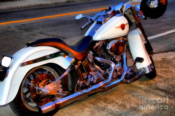 Photograph - Boss Hog . Harley-davidson .  7d12757 by Wingsdomain Art and Photography