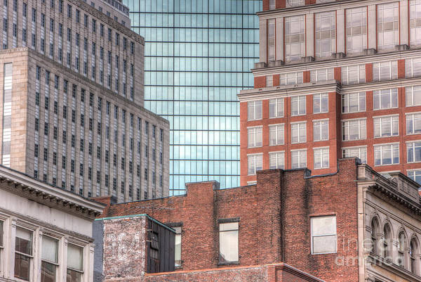 Photograph - Boston Building Facades I by Clarence Holmes