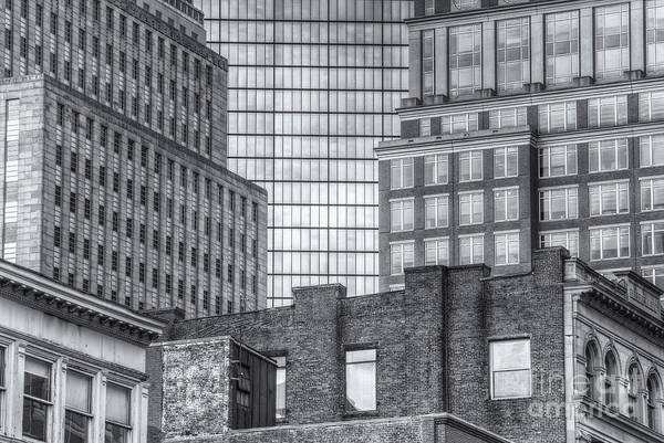 Photograph - Boston Building Facades II by Clarence Holmes