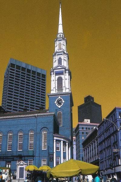 Digital Art - Boston Freedom 76 by Peter Potter