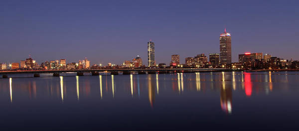 Photograph - Boston Panoramic View by Juergen Roth