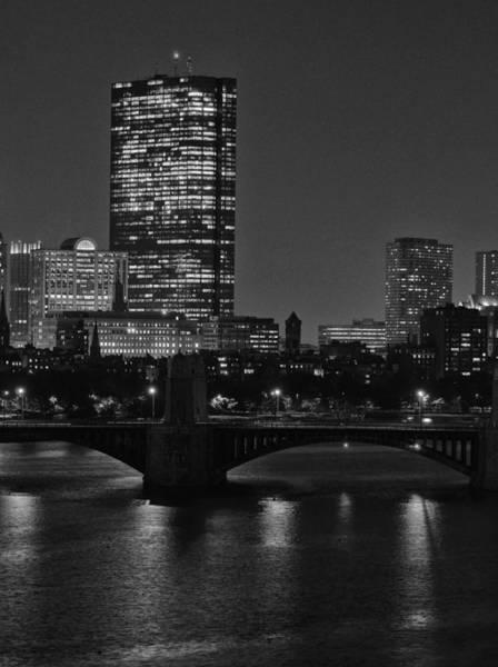 Photograph - Boston Skyline 1 by Nancy De Flon