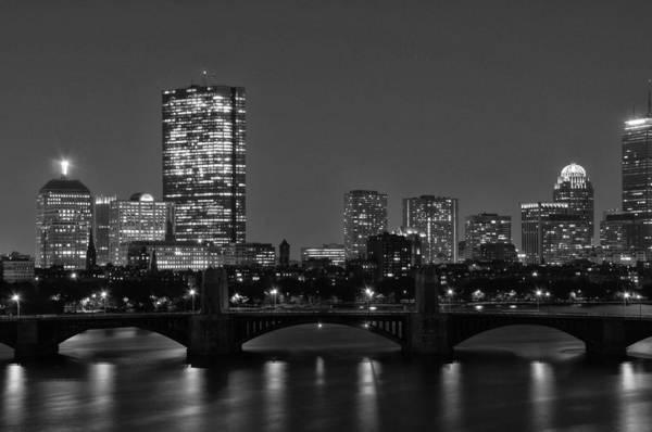 Photograph - Boston Skyline 2 by Nancy De Flon