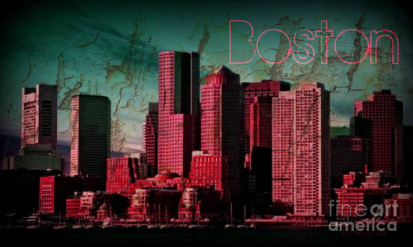 Photograph - Boston Skyline by Donna Bentley