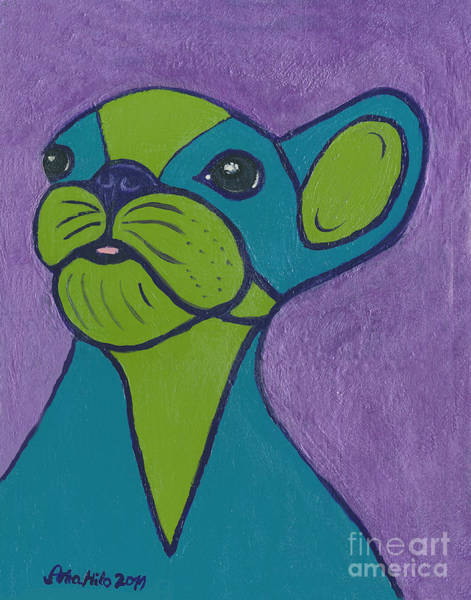 Painting - Boston Terrier My Style by Ania M Milo