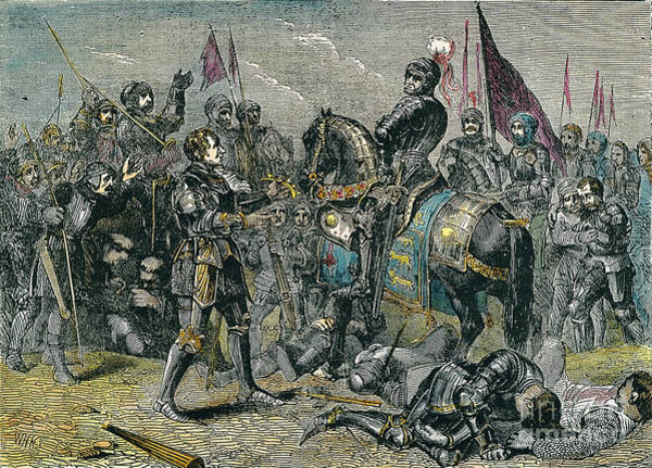Battle Field Photograph - Bosworth Field, 1485 by Granger