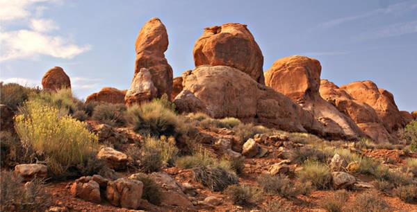 Photograph - Boulder Landscape by Marty Koch