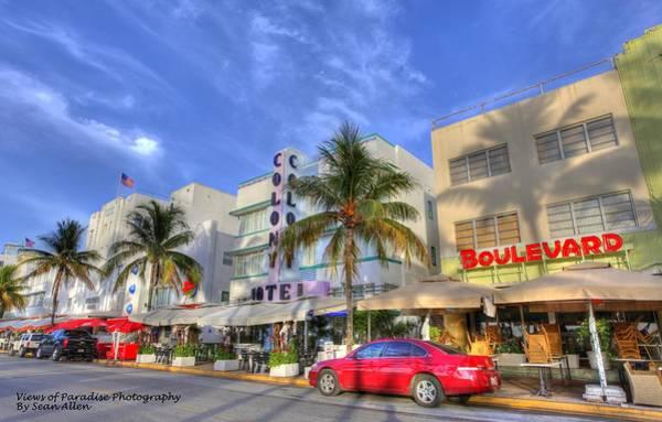 Photograph - Boulevard Hotel by Sean Allen