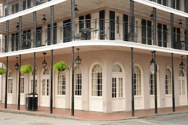 Photograph - Bourbon Street Corner Restaurant by Bradford Martin