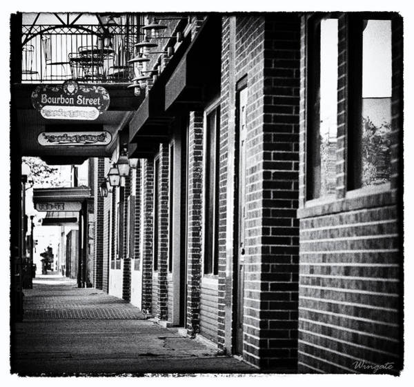 Poteen Photograph - Bourbon Street by Jared Wingate