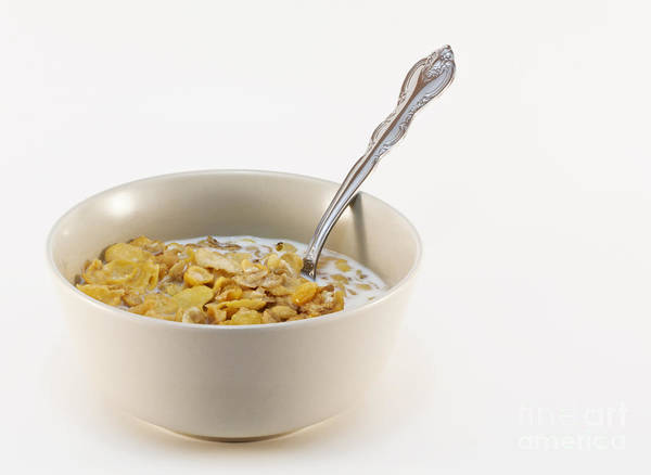 Wall Art - Photograph - Bowl Of Cereal by Blink Images