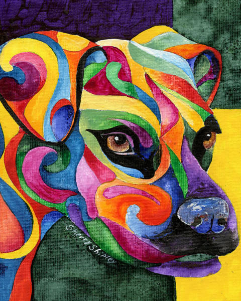 Painting - Boxer by Sherry Shipley