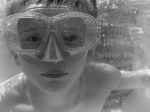 Photograph - Boy In Goggles by Kelly Hazel