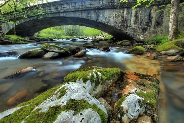 Photograph - Bradley Fork Arch Bridge by Doug McPherson