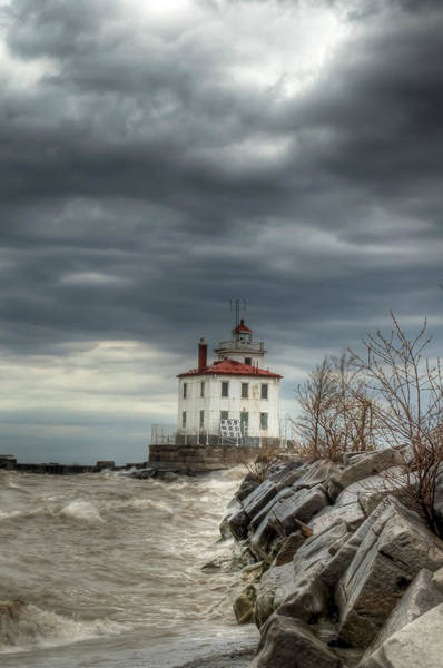 Photograph - Break In The Storm by At Lands End Photography