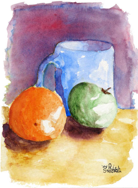 Painting - Breakfast Choices by Rich Stedman