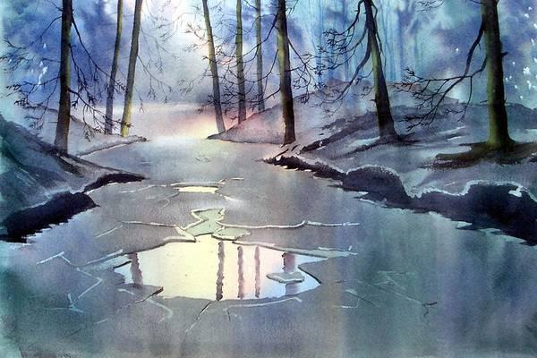 Painting - Breaking Ice by Glenn Marshall