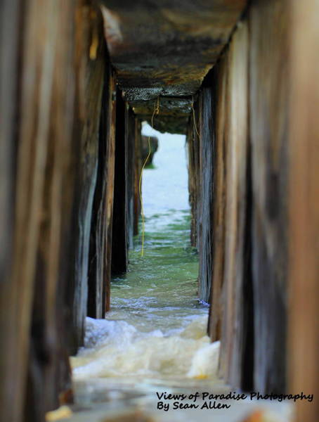 Photograph - Breakwater Tunnel by Sean Allen