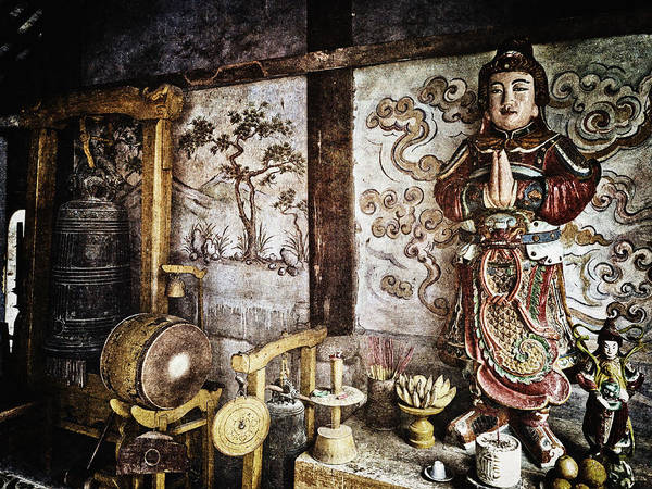 Wall Art - Photograph - Buddhist Temple Vietnam by Skip Nall